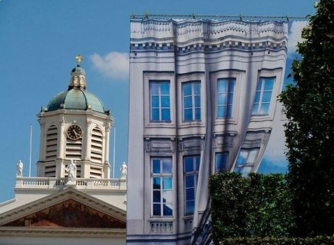 Unbelievable Public Architectural Optical Illusions34