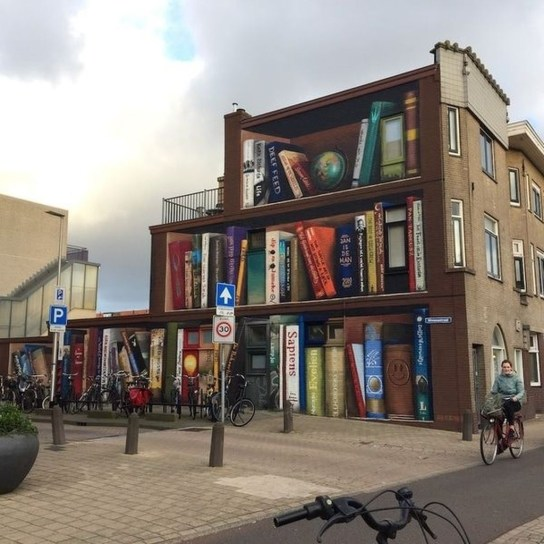 Unbelievable Public Architectural Optical Illusions43