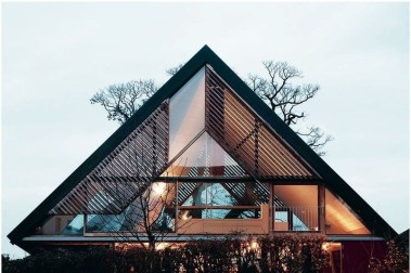 Unforgettable Designs Of A Frame Houses08