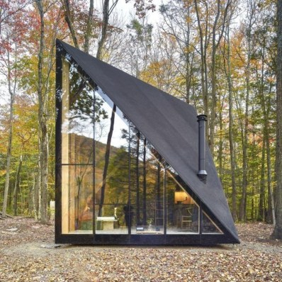 Unforgettable Designs Of A Frame Houses16