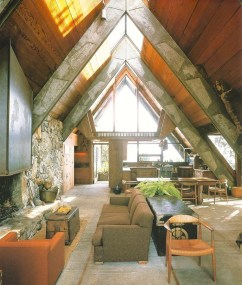 Unforgettable Designs Of A Frame Houses29