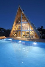 Unforgettable Designs Of A Frame Houses37