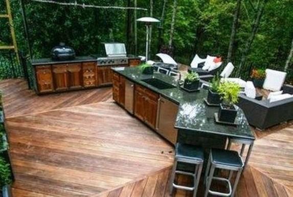 Unique Outdoor Kitchen Ideas For Excellent Restaurants47