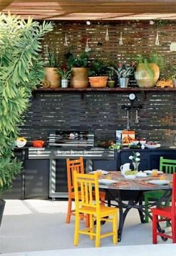 Unique Outdoor Kitchen Ideas For Excellent Restaurants48
