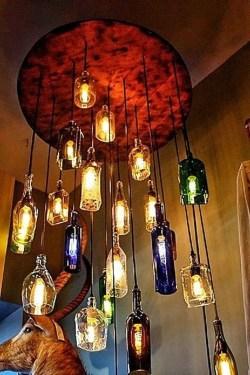 Amazing Diy Bottle Lamp Ideas15