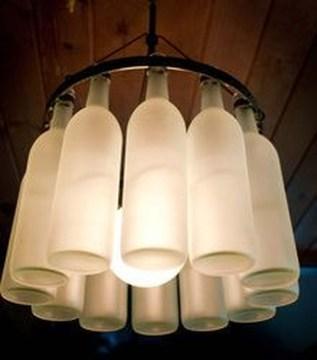 Amazing Diy Bottle Lamp Ideas35