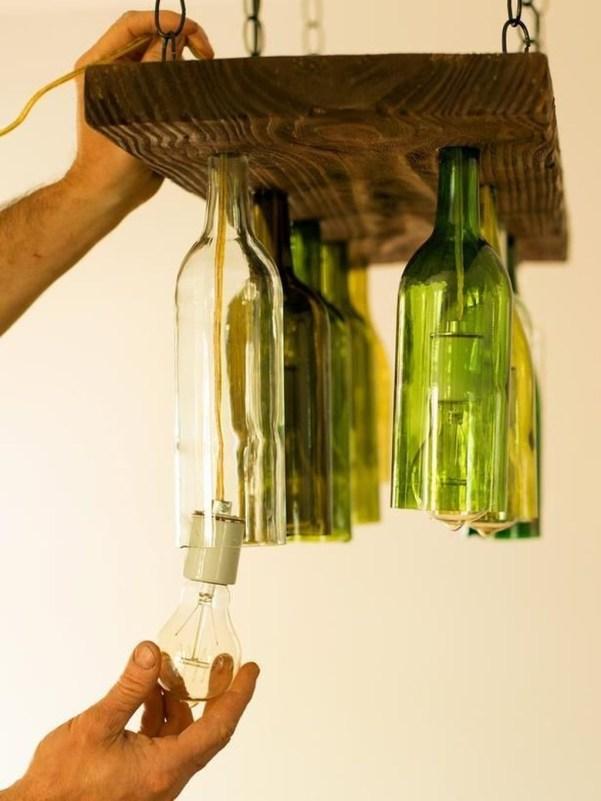 Amazing Diy Bottle Lamp Ideas46