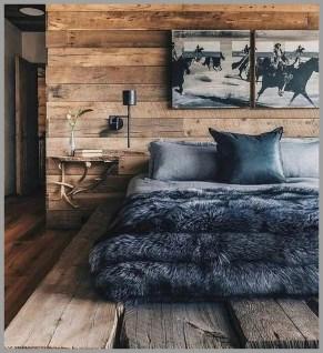 Cozy Rustic Bedroom Interior Designs For This Winter26