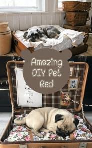 Diy Pet Bed Ideas32