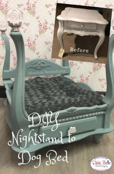 Diy Pet Bed Ideas39