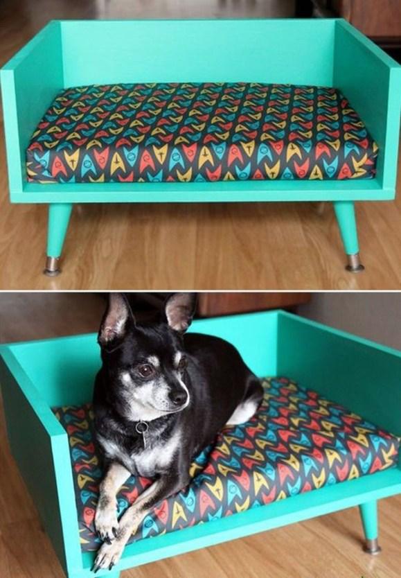 Diy Pet Bed Ideas45
