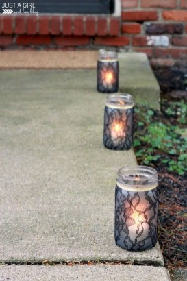 Gorgeous Diy Luminaries To Spice Up Your Halloween Party26