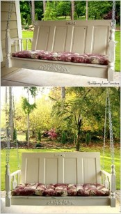 Inspirational Ways How To Repurpose Old Babys Cribs02