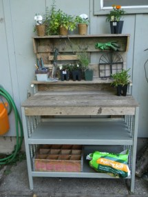 Inspirational Ways How To Repurpose Old Babys Cribs11
