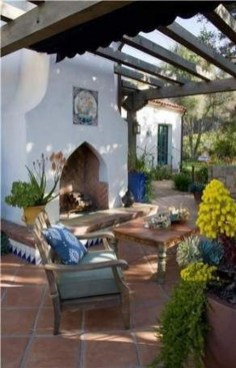 Luxury And Classy Mediterranean Patio Designs25