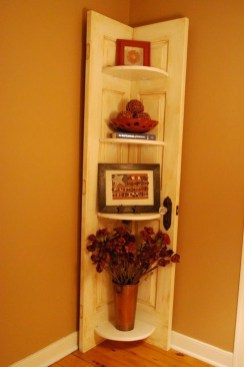 Simple And Creative Ideas Of How To Reuse Old Doors06