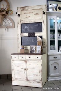 Simple And Creative Ideas Of How To Reuse Old Doors11