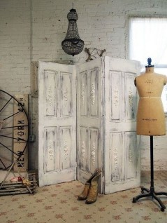 Simple And Creative Ideas Of How To Reuse Old Doors13