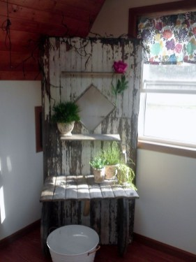 Simple And Creative Ideas Of How To Reuse Old Doors27