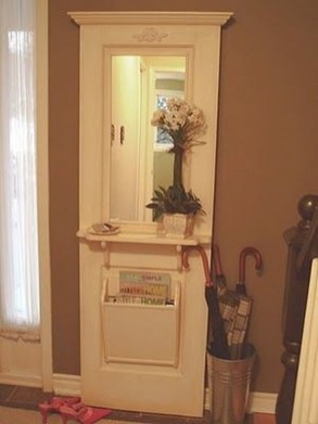 Simple And Creative Ideas Of How To Reuse Old Doors42