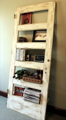 Simple And Creative Ideas Of How To Reuse Old Doors44
