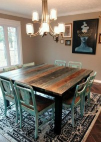 Warm Cozy Rustic Dining Room Designs For Your Cabin32