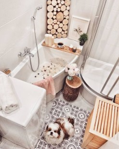 Amazing Small Apartment Bathroom Decoration You Can Try01