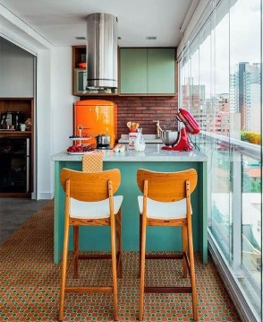 Beautifful And Cozy Colourfull Kithcen Ideas06