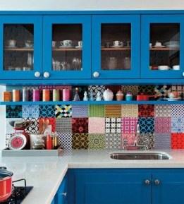 Beautifful And Cozy Colourfull Kithcen Ideas10
