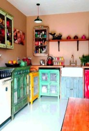 Beautifful And Cozy Colourfull Kithcen Ideas19
