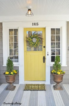 Beautiful And Colorful Porch Design09