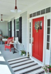 Beautiful And Colorful Porch Design23
