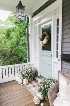 Beautiful And Colorful Porch Design31