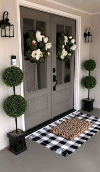 Beautiful And Colorful Porch Design38