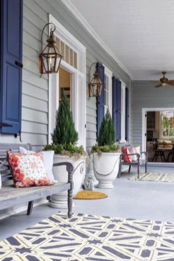 Beautiful And Colorful Porch Design39