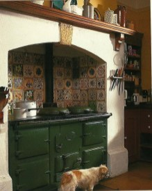 Beautiful And Cozy Green Kitchen Ideas12