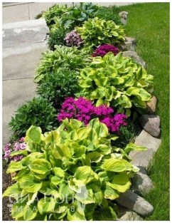 Beautiful Simple Front Yard Landscaping Design Ideas44