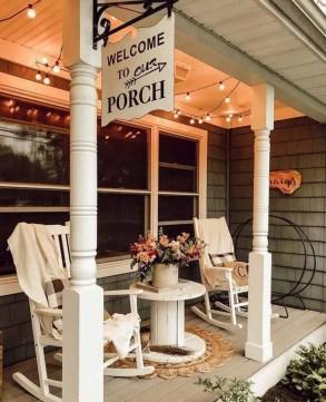 Cozy Porch Decoration Ideas26