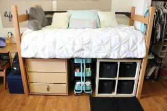 Efficient Dorm Room Organization Ideas32