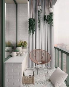Elegant And Cozy Balcony Ideas04