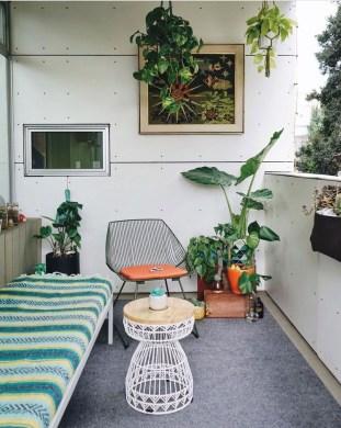 Elegant And Cozy Balcony Ideas45