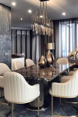 Elegant And Cozy Diningroom Design Ideas36