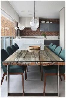 Elegant And Cozy Diningroom Design Ideas38