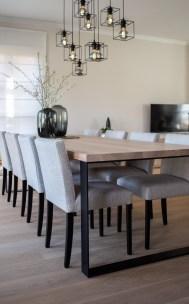 Elegant And Cozy Diningroom Design Ideas41