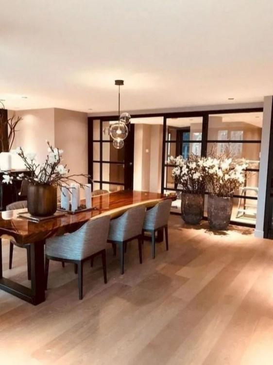 Elegant And Cozy Diningroom Design Ideas48