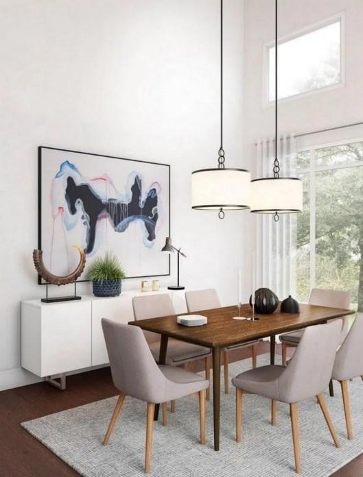 Elegant And Cozy Diningroom Design Ideas49
