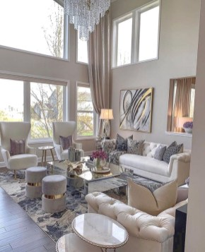 Extraordinary Luxury Living Room Ideas Which Abound With Glamour And Refinement07