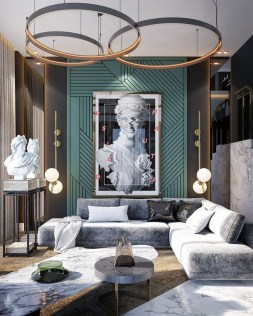 Extraordinary Luxury Living Room Ideas Which Abound With Glamour And Refinement11