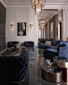 Extraordinary Luxury Living Room Ideas Which Abound With Glamour And Refinement19