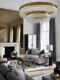 Extraordinary Luxury Living Room Ideas Which Abound With Glamour And Refinement20